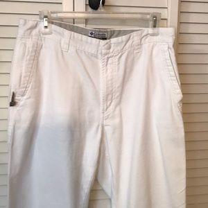 Columbia White Pants